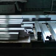 Hairline polishing of stainless steel rectangular tube